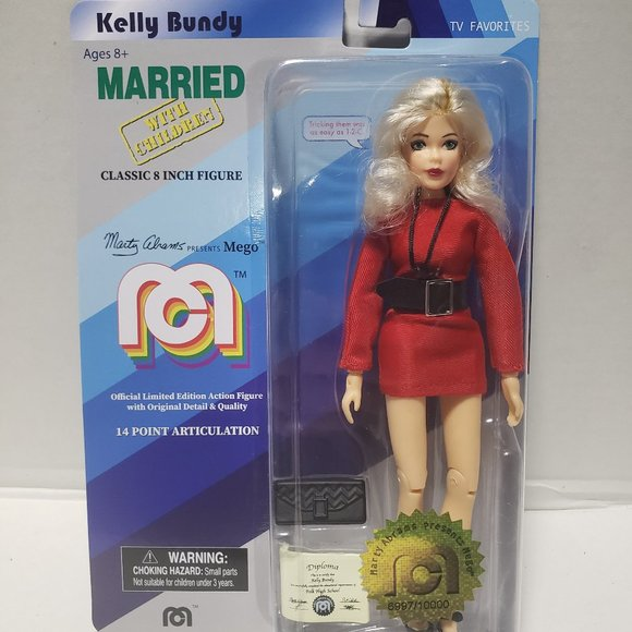 Mego Married with Children Kelly Bundy Action Fig